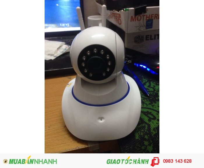 Mắt camera IP 2 Râu Wifi