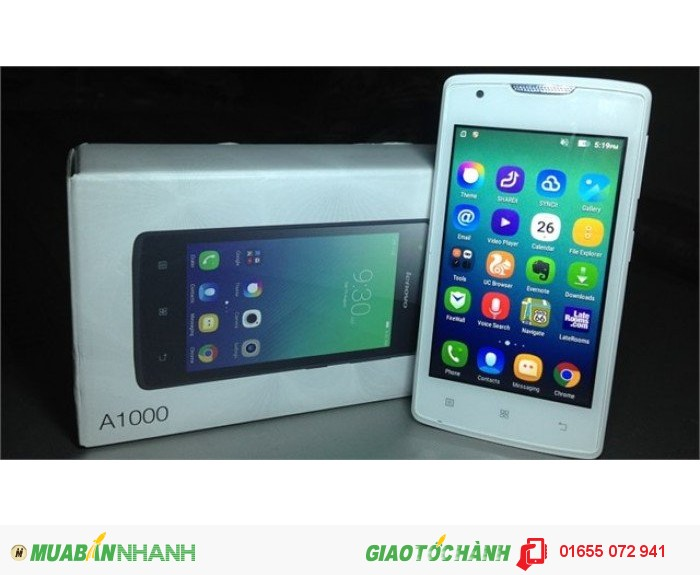 Smartphone giá rẻ Lenovo A10000