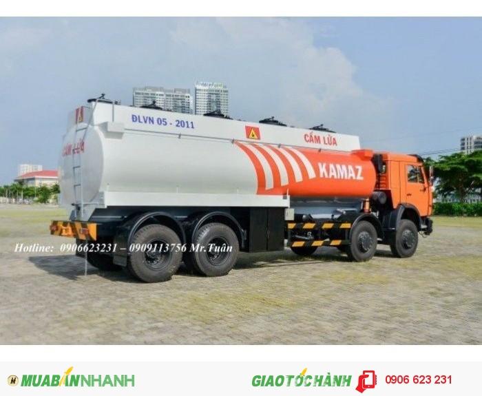 Xe bồn Kamaz 23m3 | Bán xe bồn xăng dầu Kamaz 23m3 | Xe xăng dầu Kamaz 23m3 (Bồn sắt) 2