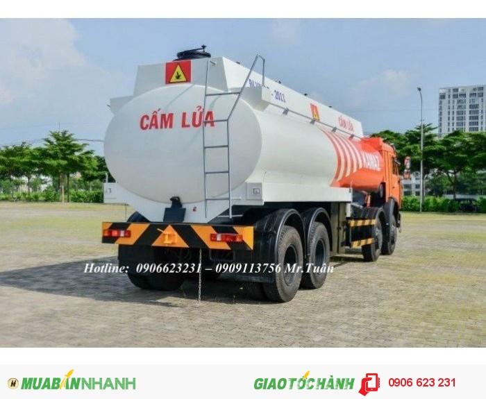 Xe bồn Kamaz 23m3 | Bán xe bồn xăng dầu Kamaz 23m3 | Xe xăng dầu Kamaz 23m3 (Bồn sắt) 3