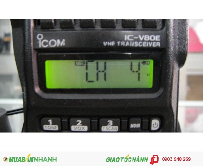 Bộ Đàm  cao cấp ICOM IC-V80 sản xuất tại Nhật Bản MỚI 100%