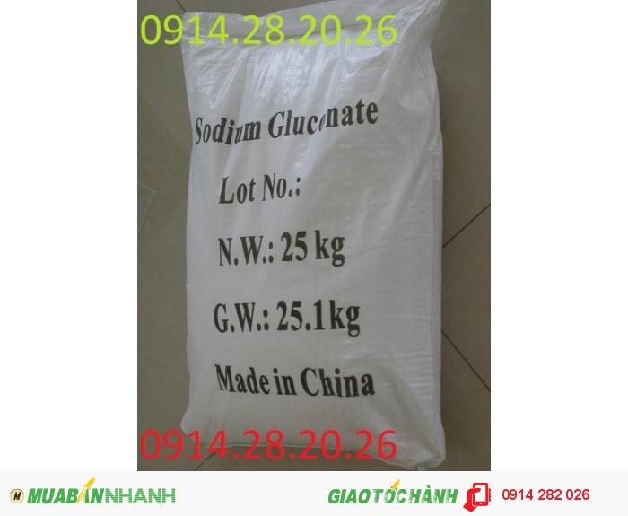Bán Sodium Gluconate C6H11NaO7 - phụ gia bê tông1
