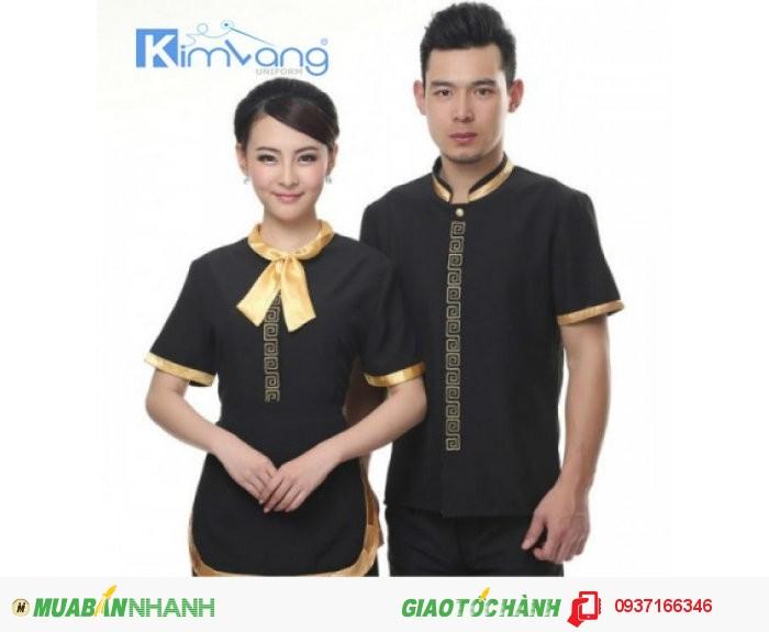Đồng phục khách sạn đẹp, giá rẻ - Công ty May Kim Vàng2