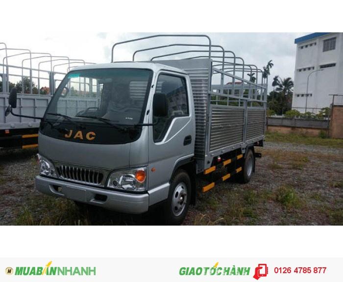 Bán xe tải jac 2.4 tấn HFC1030k4, xe tải jac 2t4 thùng dài 3m7 công nghệ Nhật bản giá tốt.