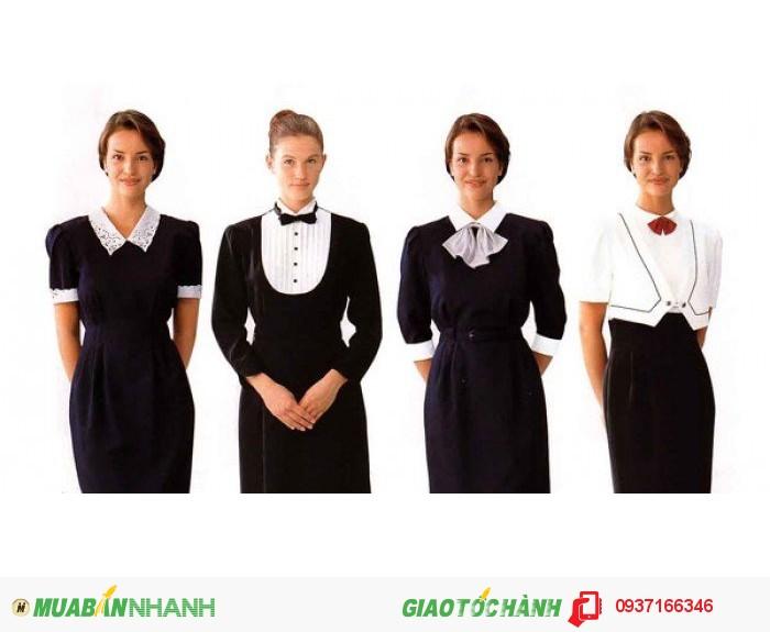 May đồng phục quản lý khách sạn theo yêu cầu - Công ty May Kim Vàng0