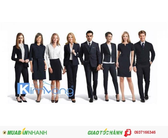 May đồng phục quản lý khách sạn theo yêu cầu - Công ty May Kim Vàng1