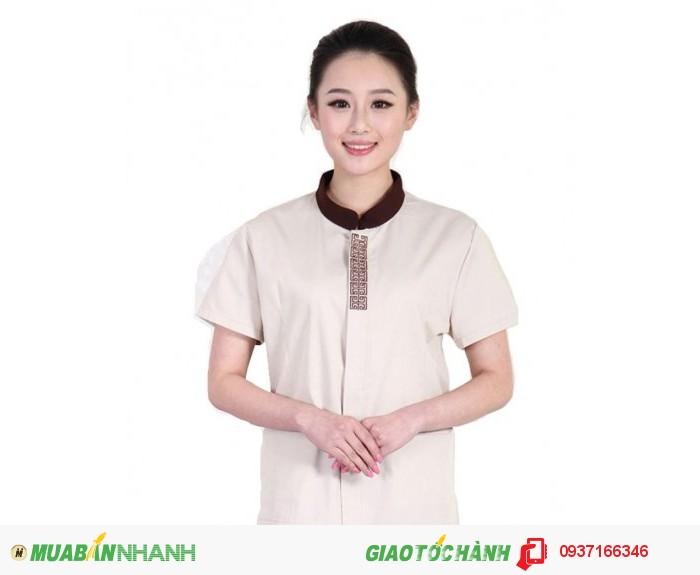 Đồng phục tạp vụ đẹp, giá rẻ, may nhanh - Công ty May Kim Vàng0