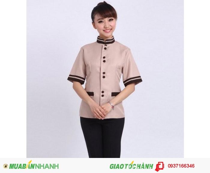 Đồng phục tạp vụ đẹp, giá rẻ, may nhanh - Công ty May Kim Vàng1