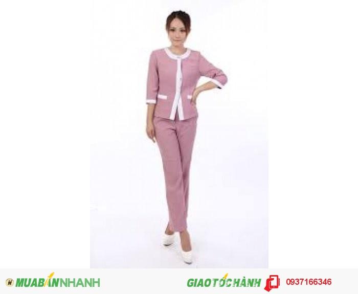 Đồng phục tạp vụ đẹp, giá rẻ, may nhanh - Công ty May Kim Vàng2