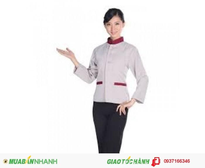 Đồng phục tạp vụ đẹp, giá rẻ, may nhanh - Công ty May Kim Vàng3