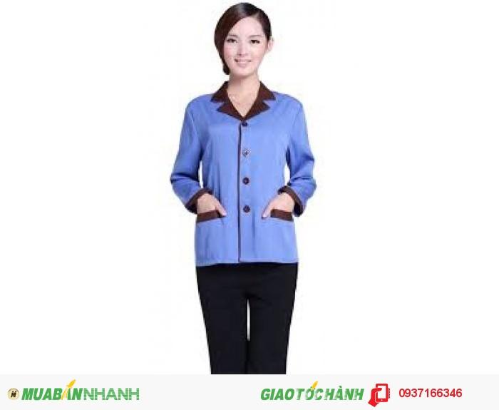 Đồng phục tạp vụ đẹp, giá rẻ, may nhanh - Công ty May Kim Vàng4