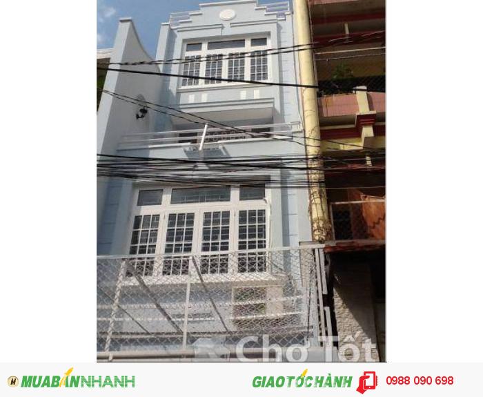 Bán gấp nhà HXH 6m Bùi Thị Xuân, P.1, Tân Bình. DT 4x20m