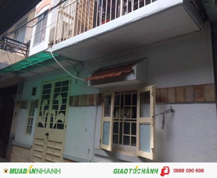 Bán nhà hẻm đường Trung Lang, P.12 Tân Bình. DT: 6x4=24m2