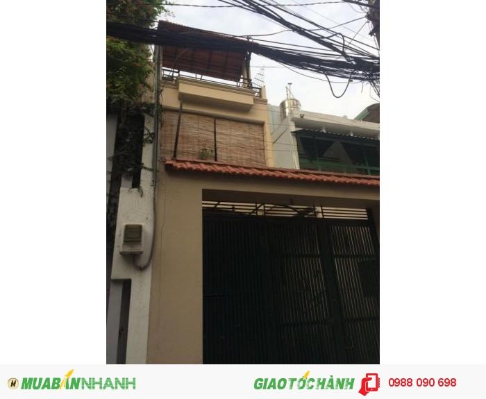 Bán nhà mặt tiền Hồ Biểu Chánh, P.11, Phú Nhuận. DT 3.15x15m