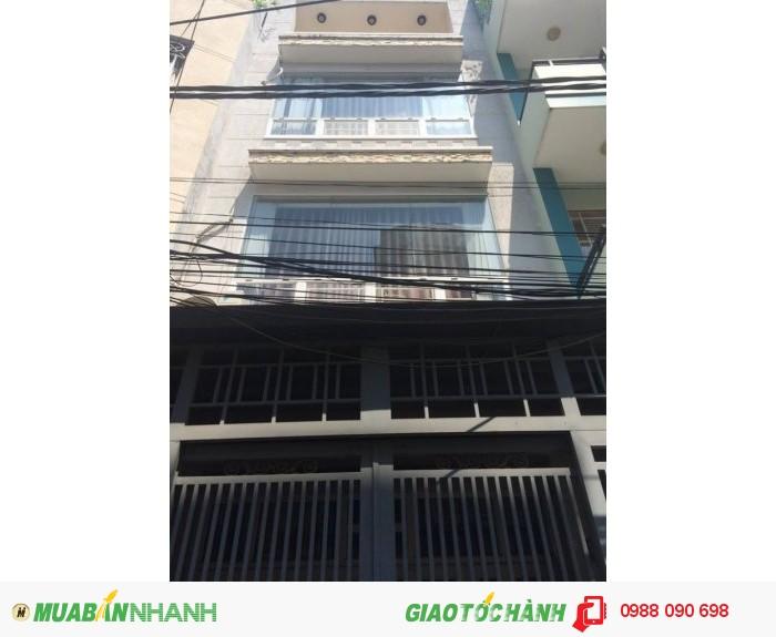 Bán nhà hẻm 3m Cô Bắc, P.1, Q.Phú Nhuận, diện tích 4x10m