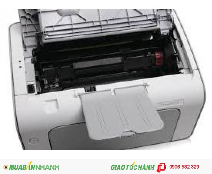 Máy in laszer trắng đen HP 1102, máy còn đẹp 95%2