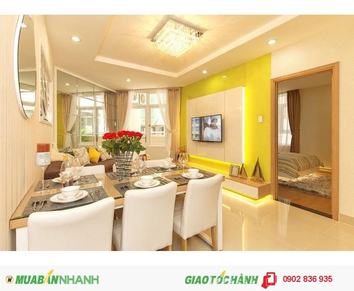 Bán căn hộ đường Lý Thường Kiệt, 4 MT, đối diện nhà thi đấu Phú Thọ giá từ 2,2 tỷ/căn