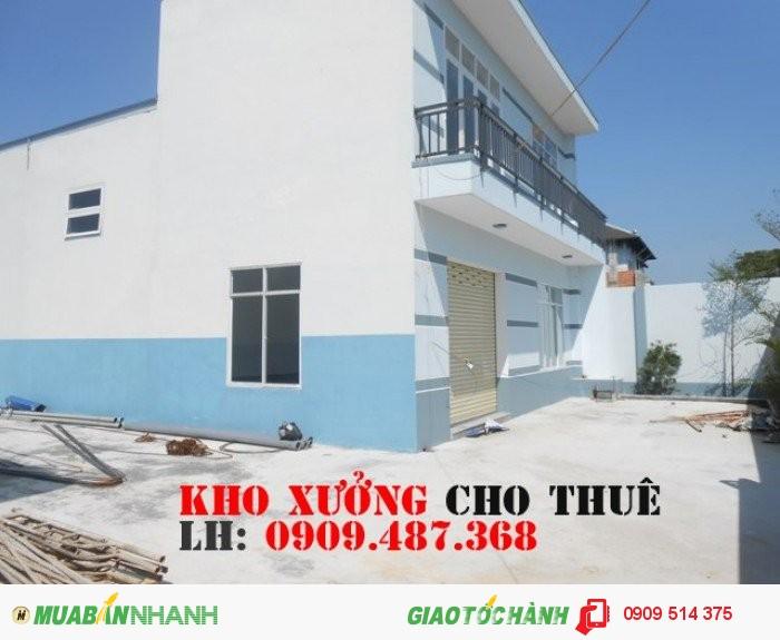 Cho thuê nhà xưởng đường Phan Anh quận Bình Tân(200m2)