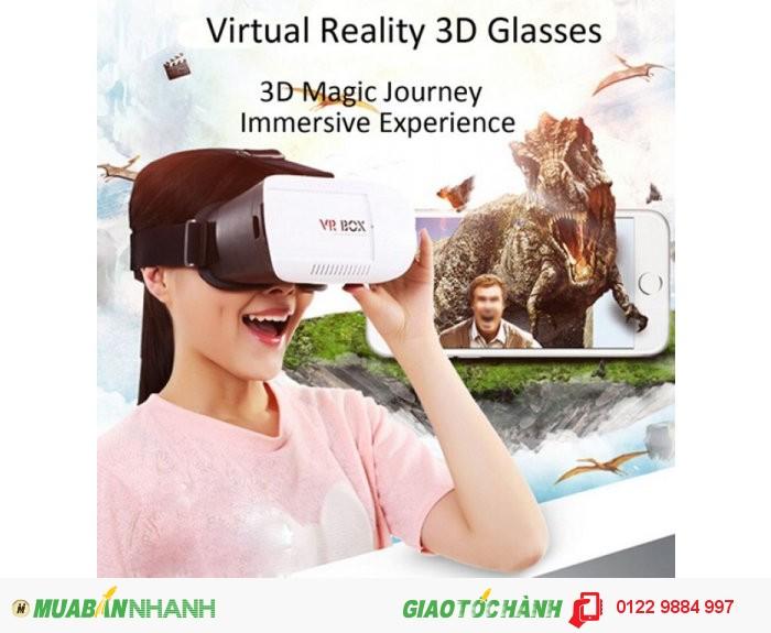 - kính thực tế ảo là sản phẩm công nghệ mới, hỗ trợ xem phim 3d trên điện thoại di động. - với thiết kế đẹp, sang trọng và lịch lãm, sản phẩm tương thích với các dòng điện thoại hiện nay.
