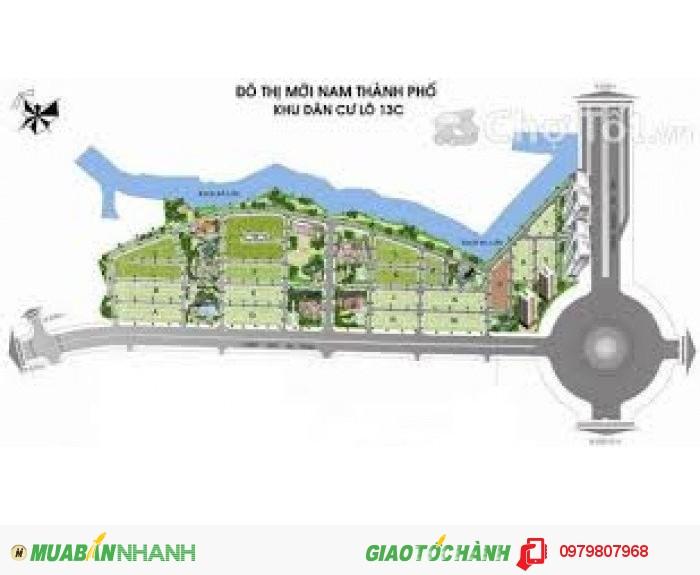 Bán đất nền biệt thự Mt Nguyễn văn Linh KDC Greenlife 13C view sông thoáng mát. Sổ đỏ. Giá 13 triệu