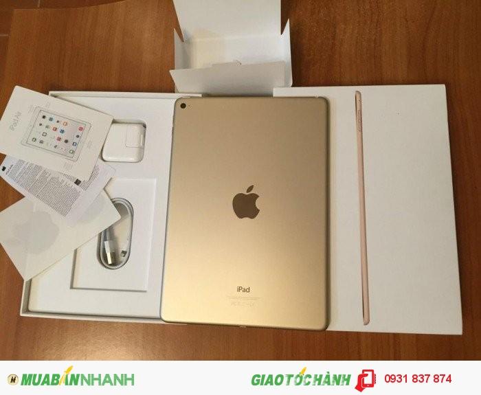 Ipad air 2 GOLD, wifi, 3G, 4G, zin 100%, giá rẻ