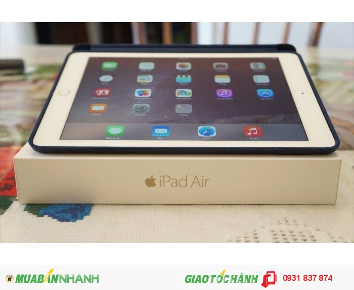 Cần bán máy Ipad air 2 GOLD, wifi, 3G, 4G, zin 100%, giá rẻ