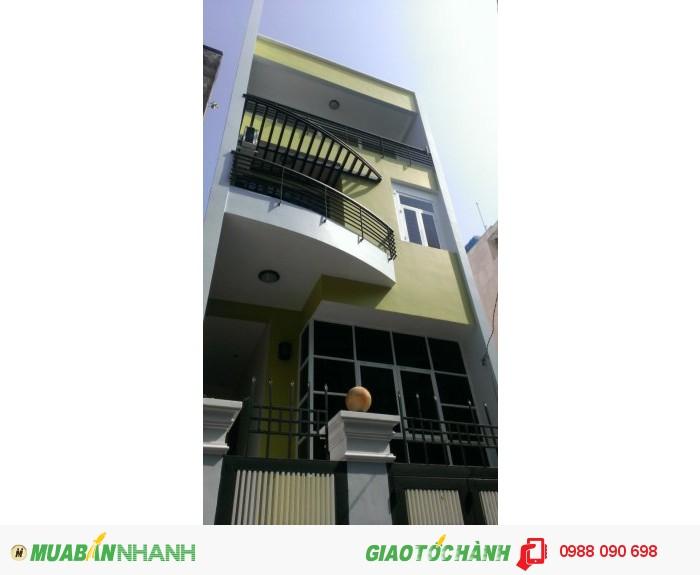 Bán gấp nhà hẻm xe hơi Nguyễn Kiệm, P9, Phú Nhuận. Dt : 5.2x12.5
