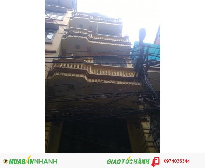 Bán nhà khu vực Kim Đồng 5 tầng 50m  6.95 tỷ  ôtô vào nhà
