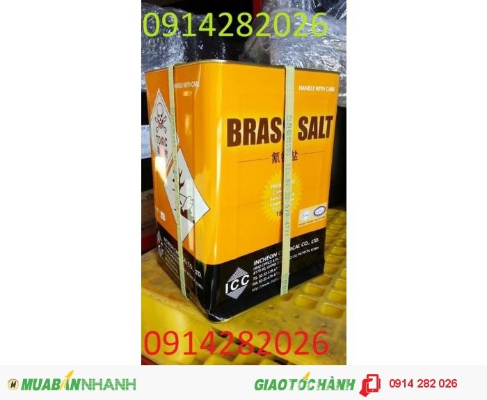 Brass-Salt dùng trong mạ đồng thau, mạ đồng giả cổ0