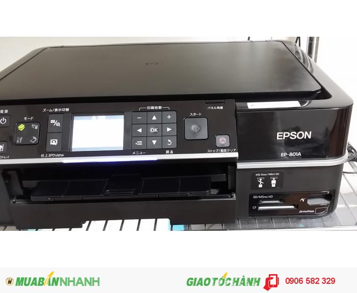 Máy in Epson EP 801A (máy in phun màu đa chức năng, máy còn mới 99%)1