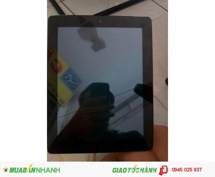 Ipad 4 màu đen 32Gb Full phụ kiến dùng được 1 năm