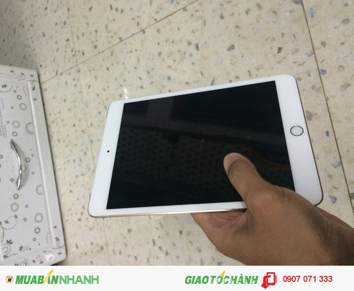 Bán Ipad Mini3 Gold 4G wifi 16Gb