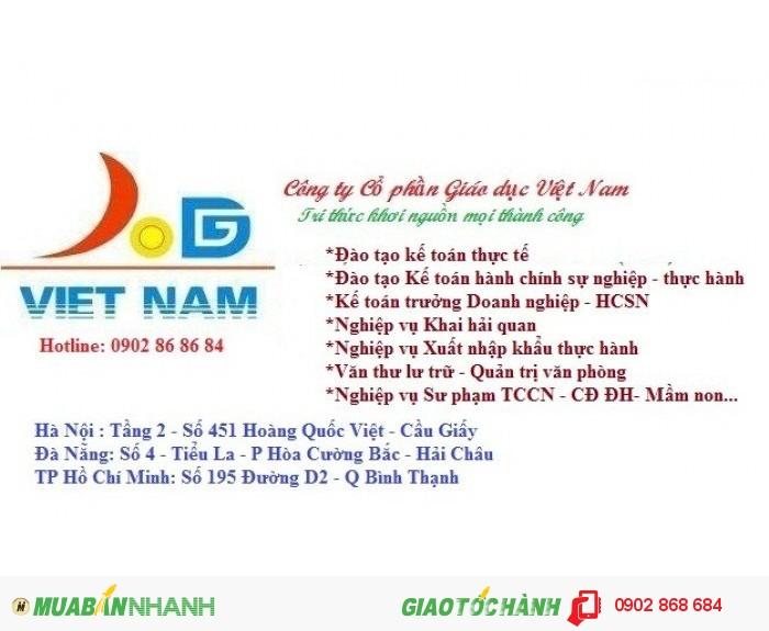 Lớp học kế toán hành chính sự nghiệp tại Nghệ An