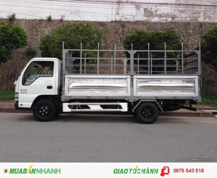 Xe tải Isuzu 2.2 tấn thùng mui bạt