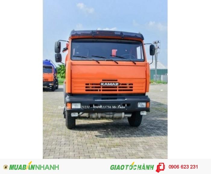 Xe bồn Kamaz 23m3 | Bán xe bồn xăng dầu Kamaz 23m3 | Xe xăng dầu Kamaz 23m3 (Bồn sắt) 4