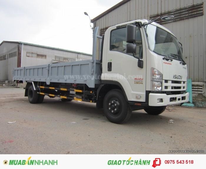 Xe tải Isuzu NQR75L 5.5 Tấn thùng Lửng