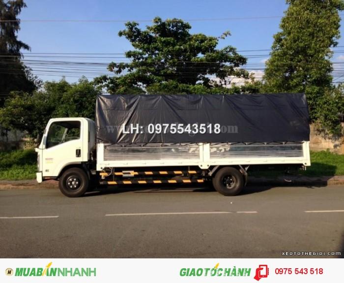 Xe tải Isuzu NQR75L thùng Mui bạt 5.5 tấn