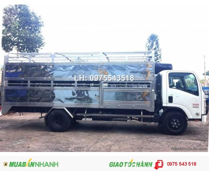 Xe tải NQR75L 5.5 tấn thùng Chở Gia súc