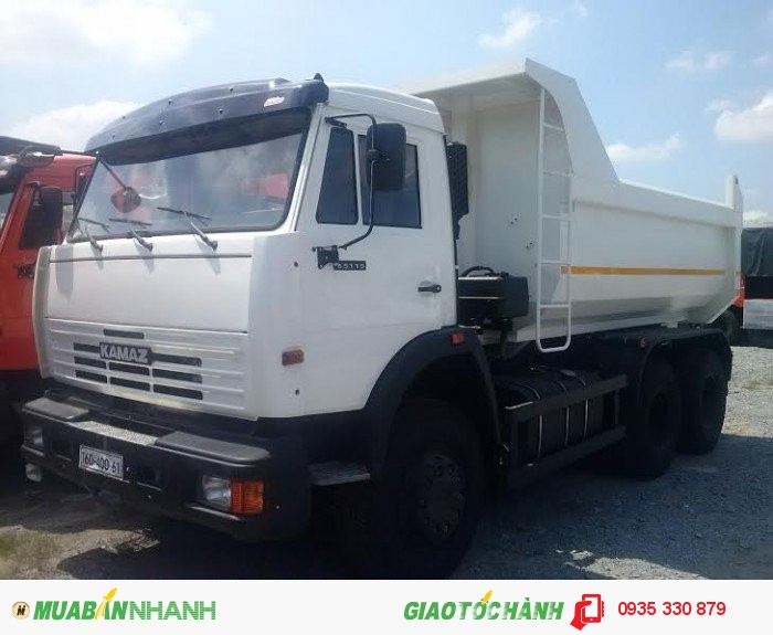 Bán xe tải ben Kamaz 65115- 15 tấn Giao Xe Toàn Quốc Trả góp Lãi suất Thấp