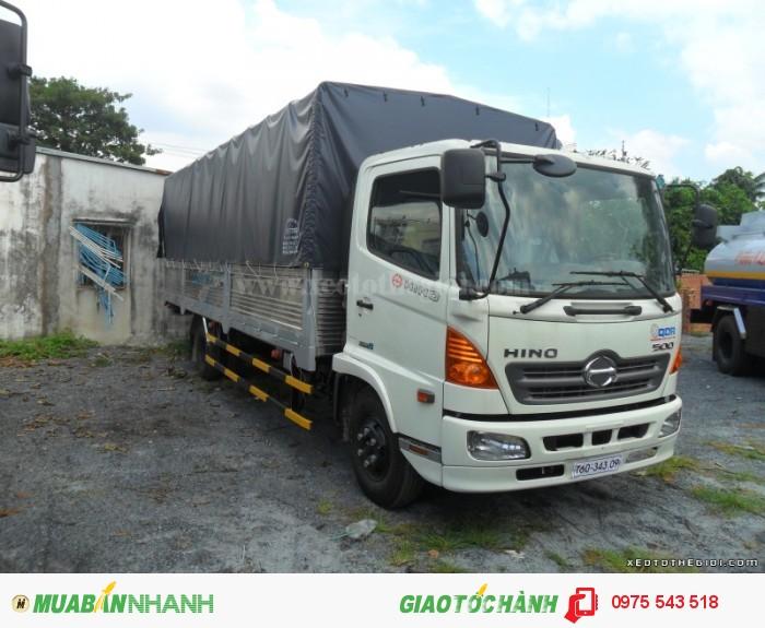 Xe tải Hino FC9JLSW 6T4 thùng dài 6.7m 1