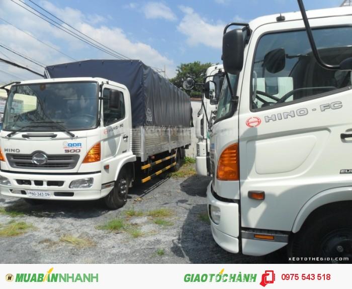 Xe tải Hino FC9JLSW 6T4 thùng dài 6.7m 2