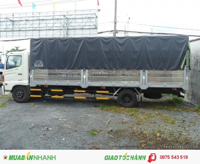 Xe tải Hino FC9JLSW 6T4 thùng dài 6.7m 3