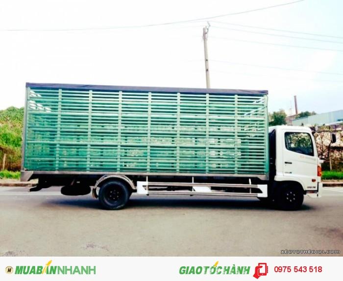 Xe tải Hino FC9JLSW 6T4 thùng dài 6.7m 4