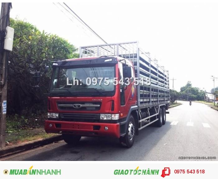 Xe tải Daewoo 14 tấn thùng chở Gà Sàn
