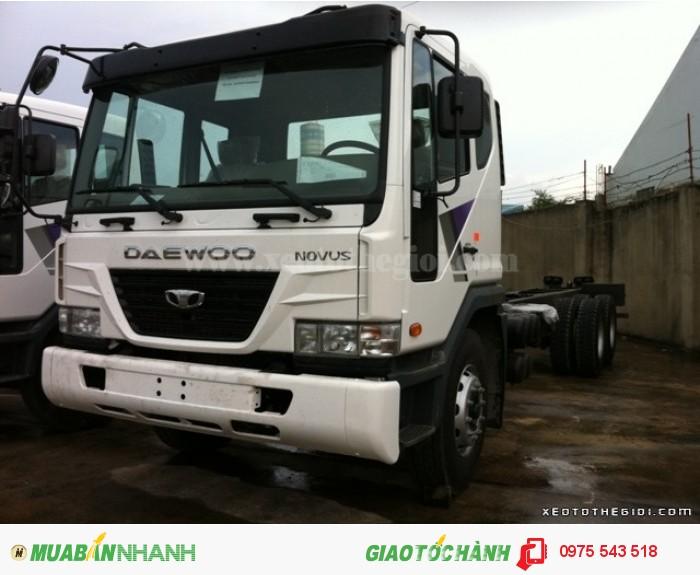 Xe tải Daewoo K9KEF 6x4 thùng mui bạt 14 tấn 0