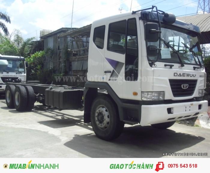 Xe tải Daewoo K9KEF 6x4 thùng mui bạt 14 tấn 1