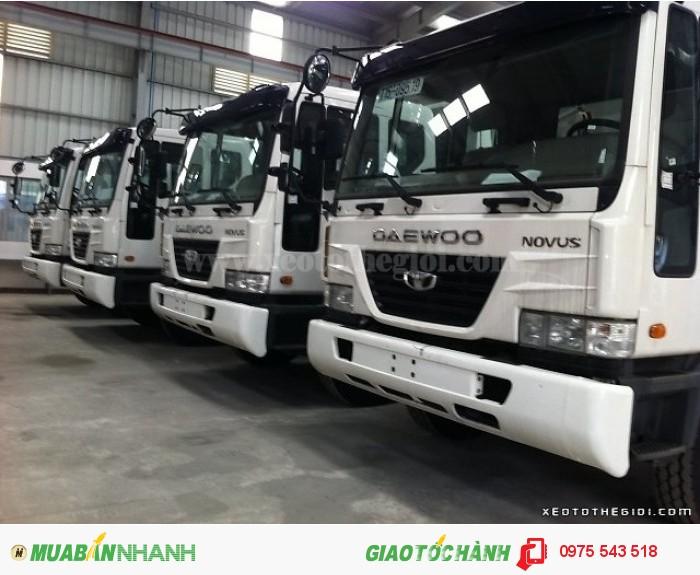 Xe tải Daewoo K9KEF 6x4 thùng mui bạt 14 tấn 2