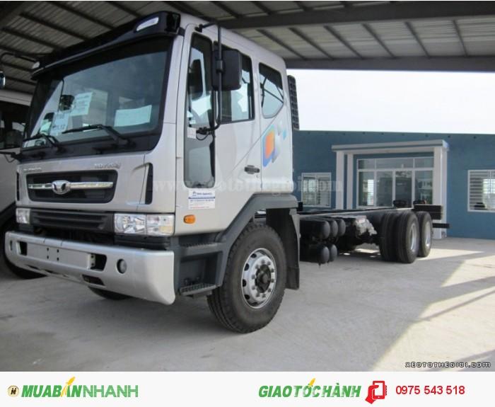 Xe tải Daewoo K9KEF 6x4 thùng mui bạt 14 tấn 3