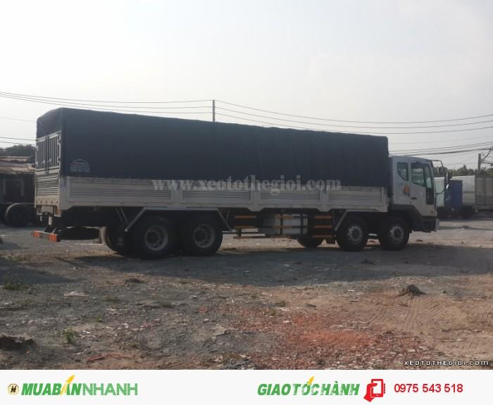 Xe tải Daewoo 4 chân 19 tấn M9CEF