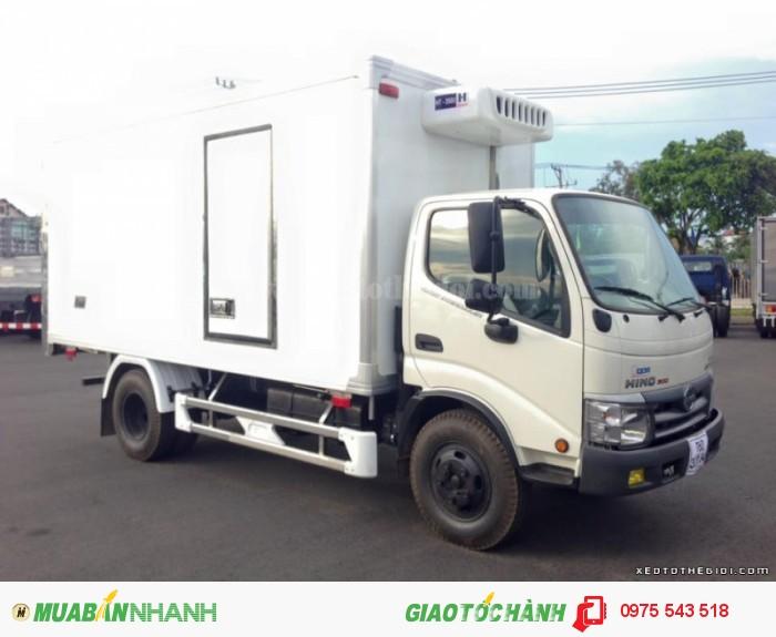 Xe tải Hino WU342L thùng đông lạnh 0